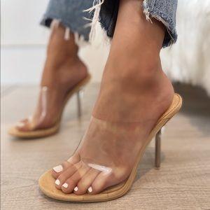 Clear Nude Heel